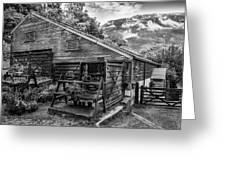 Mountain Workshop Greeting Card
