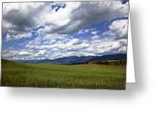 Mountainfarm Greeting Card