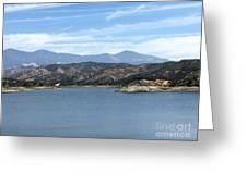 Mountainous View Greeting Card