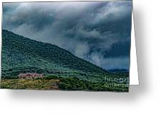 Mountains And Clouds 1350t Greeting Card