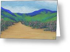 Mountains At Moholoholo Greeting Card