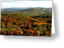 Mountains Of Color Greeting Card