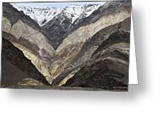 Mountains Of Ladakh Greeting Card