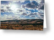 Mountains Of Sand Greeting Card