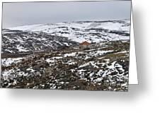 Mountains Of Serra Da Estrela Greeting Card