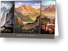 Mountains Of The Southwest Greeting Card
