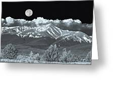 Mountains, When High Enough And Tough Enough, Measure Men.  Greeting Card
