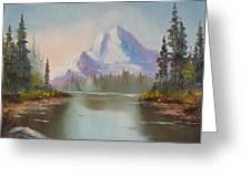 Mountaintop Greeting Card