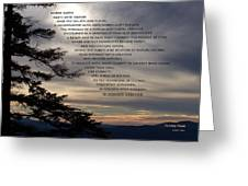 Mountaintop Moments Greeting Card
