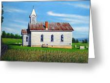 Mountain View Church Greeting Card