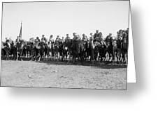 Mounted Guard, 1921 Greeting Card