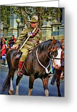 Mounted Infantry 2 Greeting Card