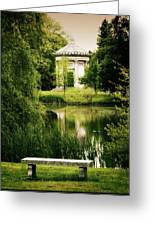 Mournful Reflections Greeting Card