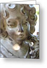 Mourning Angel 2 Greeting Card