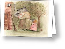 Mouse Family Greeting Card