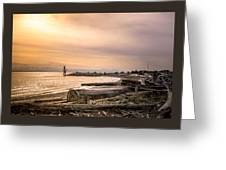 Mouth Of The Fraser Greeting Card