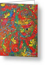 Movement Greeting Card
