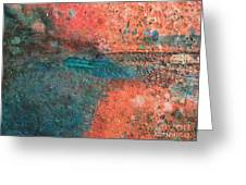 Movement Of Color II Greeting Card
