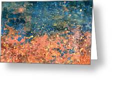 Movement Of Color Vii Greeting Card