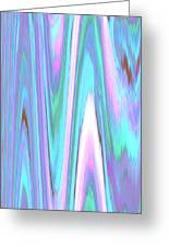 Moveonart Color Mood Waves Two Greeting Card