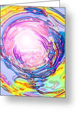 Moveonart Deeper Calling Greeting Card