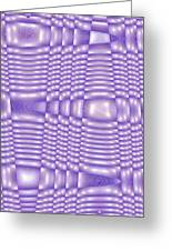 Moveonart Future Texture 5 Greeting Card