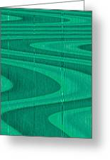 Moveonart Green Pathways 1 Greeting Card