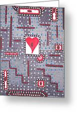Moveonart Heart Connection Greeting Card