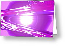 Moveonart I Call Forth The Violet Wave Greeting Card