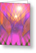 Moveonart I Surrender Two Greeting Card