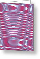 Moveonart New Future Sound Waves 1 Greeting Card