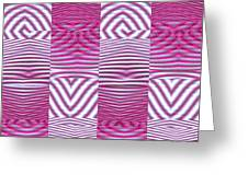 Moveonart New Future Texture 1 Greeting Card