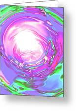 Moveonart Peacefully Focus Greeting Card