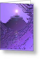Moveonart Purple Memories Two Greeting Card