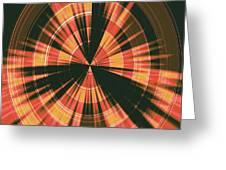 Moveonart Spiritual Radar Greeting Card