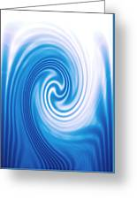 Moveonart Spiritwaterwavelight Greeting Card