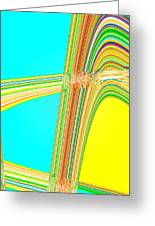 Moveonart Total Increase In Light And Waves Greeting Card