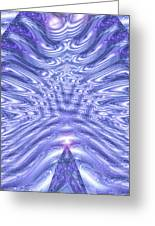 Moveonart United Cosmic Thought 1 Greeting Card