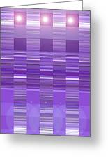 Moveonart Violet Program Two Greeting Card