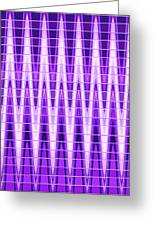 Moveonart Violet Vibes Greeting Card