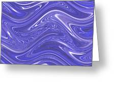 Moveonart Waves Of Blue For You 1 Greeting Card