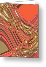 Moveonart Waves Of Interpretation Greeting Card