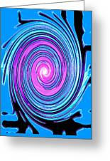 Moveonart Waves Of Renewal I Greeting Card