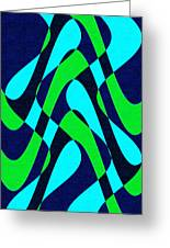 Moveonart Zen Waves Series 2 Greeting Card