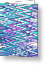 Moveonart Zig Zag Therapy One Greeting Card