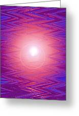 Moveonart Zig Zag Therapy Two Greeting Card