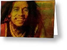 Movie Icons - Bob Marley I Greeting Card