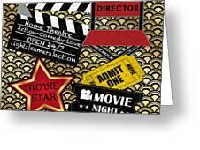 Movie Night-jp3613 Greeting Card