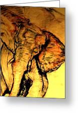 Moving Elephant Greeting Card