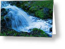 Moving Water Can Move Your Soul Greeting Card